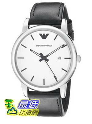 [COSCO代購 如果沒搶到鄭重道歉] Emporio Armani Classic 系列皮革石英男錶 W941815
