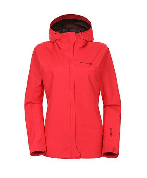 【【蘋果戶外】】marmot 1154 芙蓉红 美國 女 Minimalist Jacdet GORE-TEX GTX 防水外套 防風外套 風衣雨衣 風雨衣