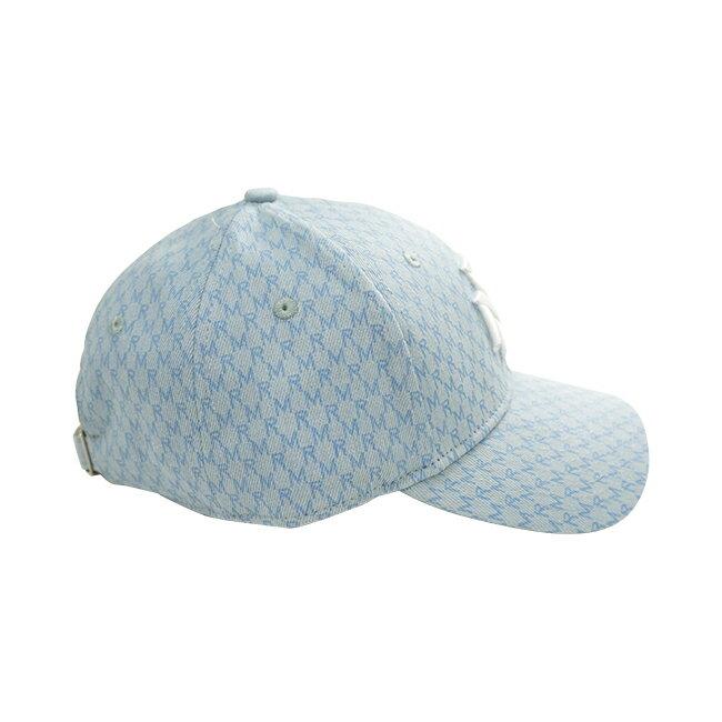 RM滿版花紋老帽-藍 5