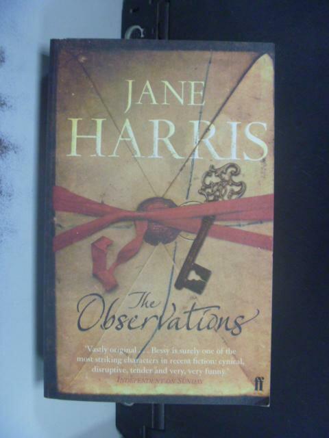 【書寶二手書T3/原文書_KFJ】The observations_Jane Harris