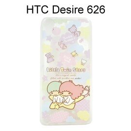 雙子星透明軟殼 [TS3] HTC Desire  530 / 626 / 628 / 650【三麗鷗正版授權】