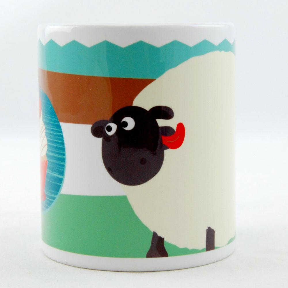 笑笑羊 ^(Shaun The Sheep^) ~ 馬克杯  牛奶杯:~Shirley的櫻