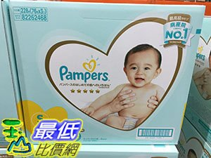 [COSCO代購]PAMPERSDIAPER幫寶適以及幫S號4-8公斤228片日本境內版_C156693