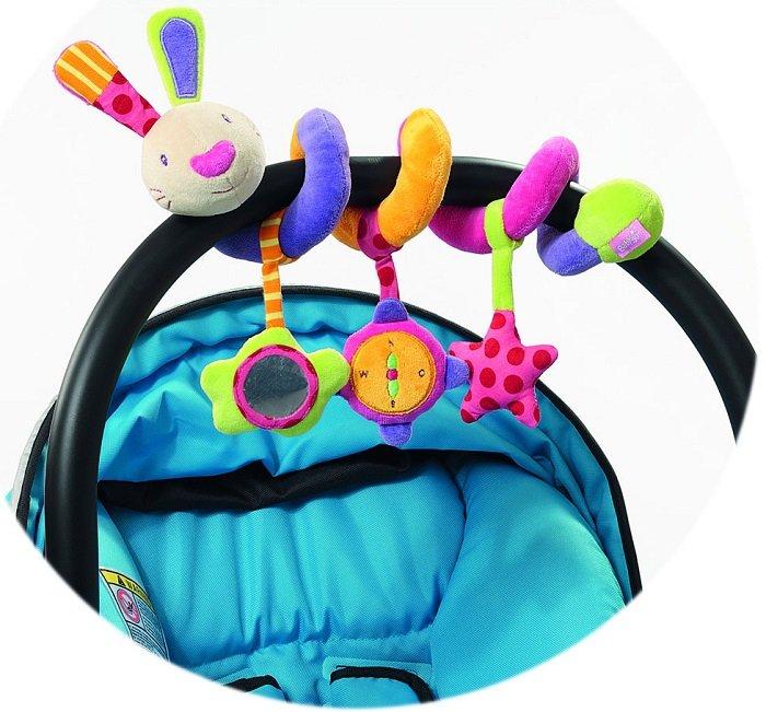babyFEHN 芬恩 - 探險家小兔布偶扭扭圈玩具 2