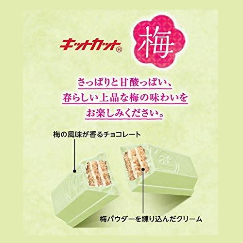 雀巣Kitkat巧克力梅子口味13枚入日本製 【秀太郎屋】