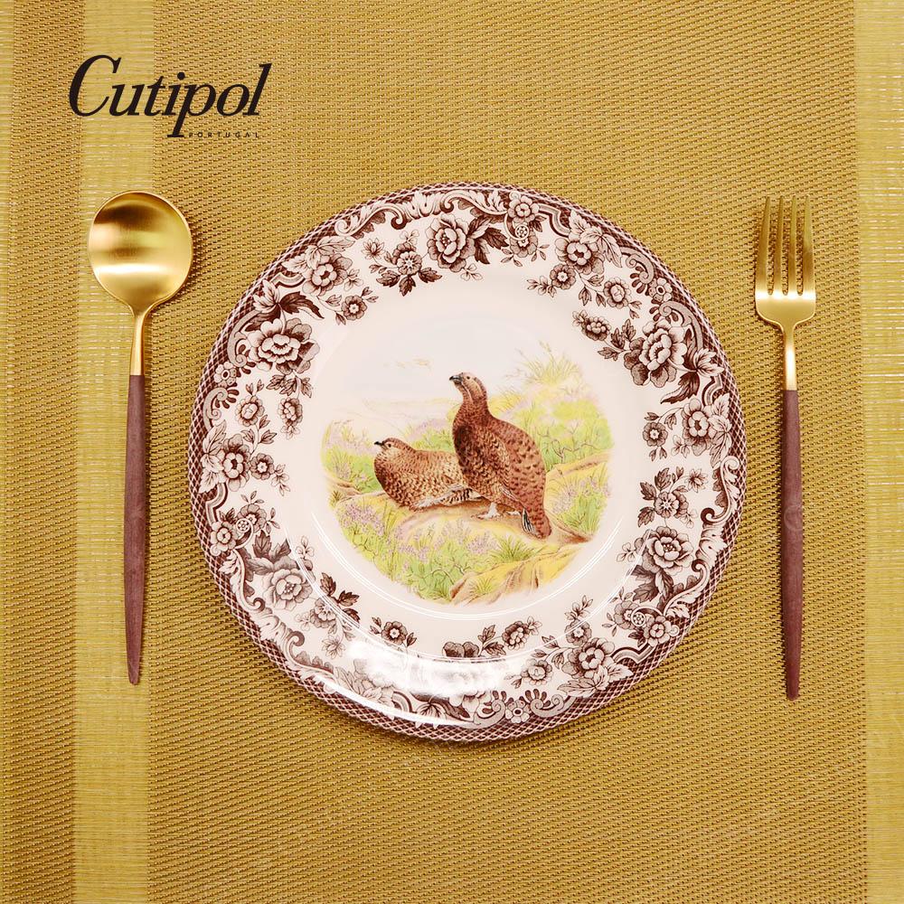【SuperSale 55折 特別企劃】葡萄牙 Cutipol X Spode個人餐具組-四款可選