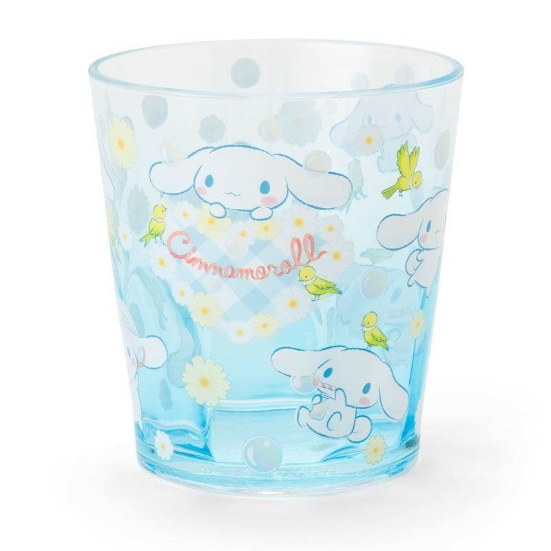 X射線【C315569】大耳狗Cinnamoroll 塑膠杯280ml,水杯/馬克杯/杯瓶/茶具/湯杯/玻璃杯/不鏽鋼杯/漱口杯