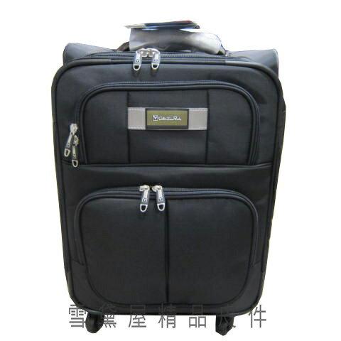 雪黛屋精品皮件:~雪黛屋~Aalention24吋行李箱台灣製造品質保證各尺寸加大容量360旋轉多段鋁合金桿日本輪超輕量A101009