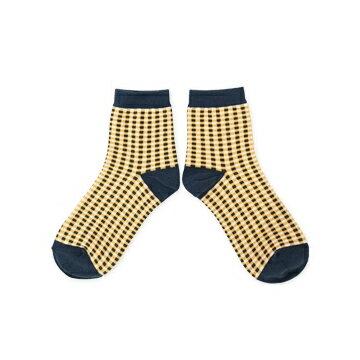 【玩襪WOW】PULOG綠豆糕格紋襪,小編最愛款。