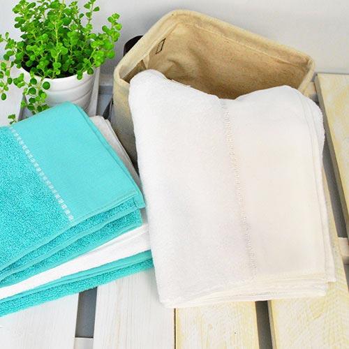 【UCHINO】BB系列 純色繡邊長巾 毛巾 兩色可選