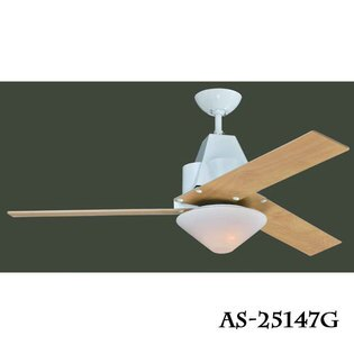 工業風系列★設計款52吋LED18W吊扇燈風扇燈尊爵黑杏仁白★永光照明AS-25147GAS-25148G