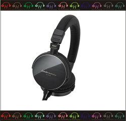 弘達影音多媒體 audio-technica 鐵三角 ATH-ES750 便攜型耳罩式耳機