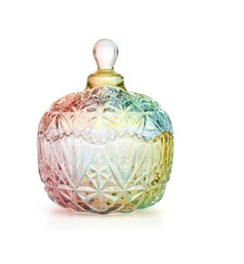 皇冠水晶玻璃罐(小-10.5X13cm) [大買家] 7