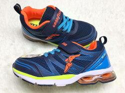 【Jolove】Good Year固特異童鞋/無限系列/氣墊緩震運動鞋78226 藍色