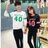 ◆快速出貨◆刷毛T恤 圓領刷毛 情侶T恤 暖暖刷毛 MIT台灣製.學園運動風數字40【YS0487】可單買.艾咪E舖 3