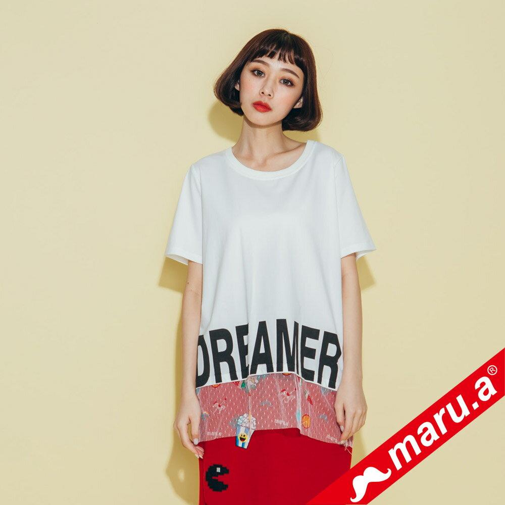 【maru.a】dreamer印花上衣 8311316 0