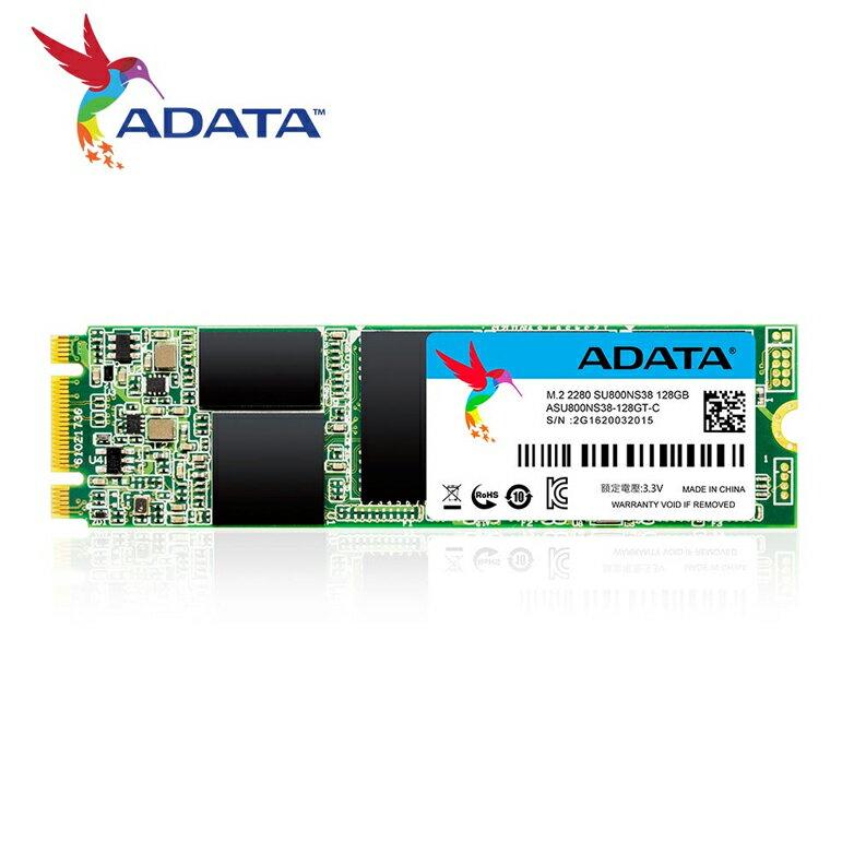 ADATA 威剛 Ultimate SU800 128G M.2 2280 SATA SSD 固態硬碟