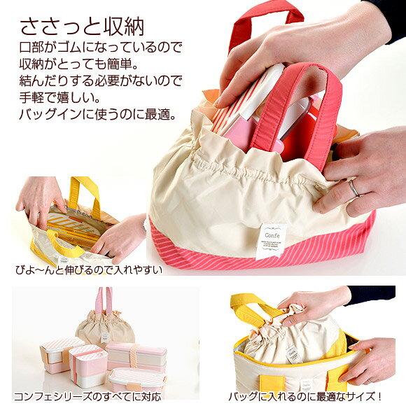 日本 Confe 可愛束口 便當袋 保冷保溫  /  sab-1252  /  日本必買 日本樂天直送 /  件件含運 2