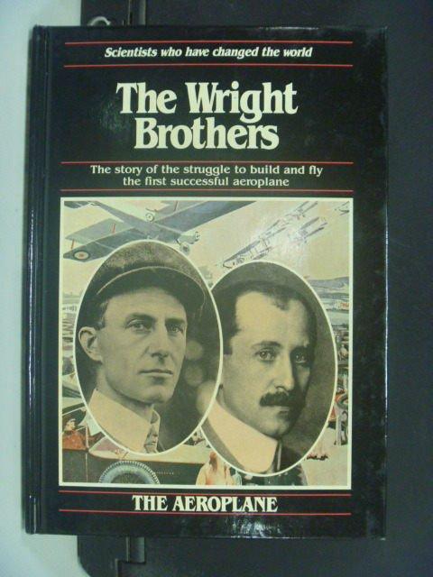 【書寶二手書T7/傳記_GOQ】The Wright brothers_Anna Sproule