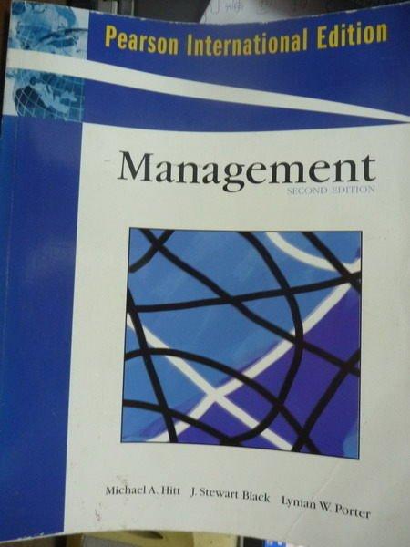 【書寶二手書T5/大學商學_QAZ】Management_Hitt,etc_2/e