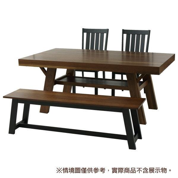 【馬小姐專用】◎(OUTLET)實木餐桌 FRANS 180 DBR 橡膠木 福利品 NITORI宜得利家居 8