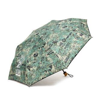 ►法西歐 桃園◄ Filter017 HKT獵殺小隊 迷彩折疊晴雨傘 滿版 圖騰 塗鴉 迷彩 黑 木質柄 折傘 摺疊傘
