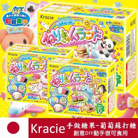 日本 Kracie 知育果子 手做糖果 葡萄蘇打糖 42g 動手作 手做 食玩 糖果【N101066】