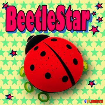 Lumitusi- 紅色瓢蟲LED滿天星投射星星小夜燈 0