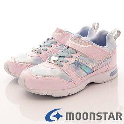 日本月星頂級競速童鞋 2E輕量耐磨運動款 SSJ7734粉紅(中大童段)