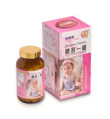 貝樂耶菌多一錠(乳酸菌+酵素)400錠