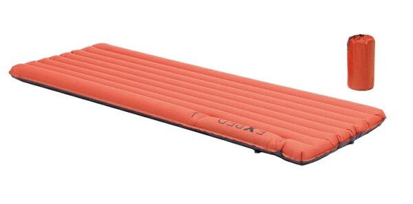 【【蘋果戶外】】Exped6096732205320【SynMat7MW】超輕量加寬型打氣輕量保暖睡墊(管狀內建幫浦)空氣墊.適單車環島.露營.自助旅行