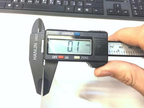 HANLIN1052大螢幕液晶顯示遊標卡尺電子快速測量-學生設計人必備