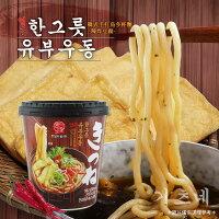 韓國泡麵推薦到【韓太】韓式手打烏冬杯麵-辣炸豆腐就在K-Mart推薦韓國泡麵