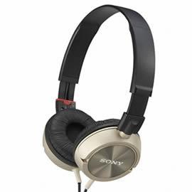 志達電子 MDR-ZX300-N 金色 SONY 折疊式耳罩式耳機 (公司貨,保固一年)