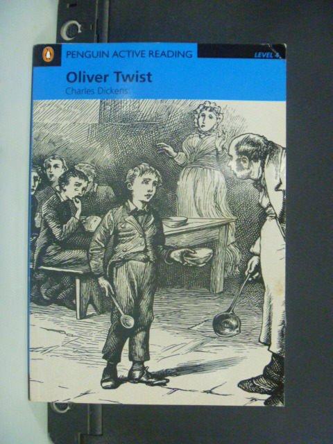 【書寶二手書T2/語言學習_JEP】Oliver Twist: Level 4_Dickens Charles_附光碟