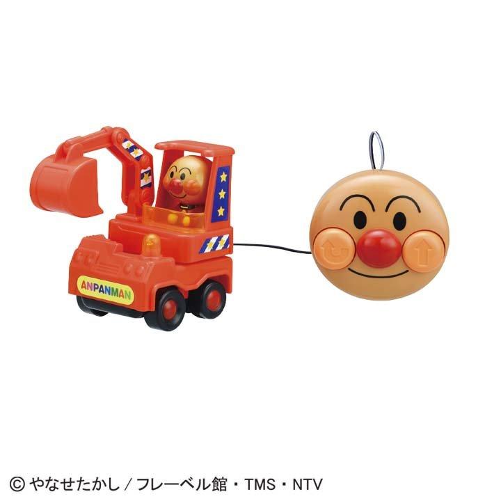 日本代購預購 滿600免運費 麵包超人 有線遙控車 玩具車 交通玩具 兒童玩具 707-508