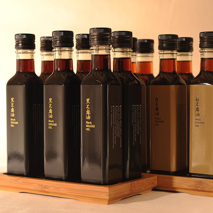 特選冷壓芝麻油(250ml / 瓶) x2瓶(黑+白) 3