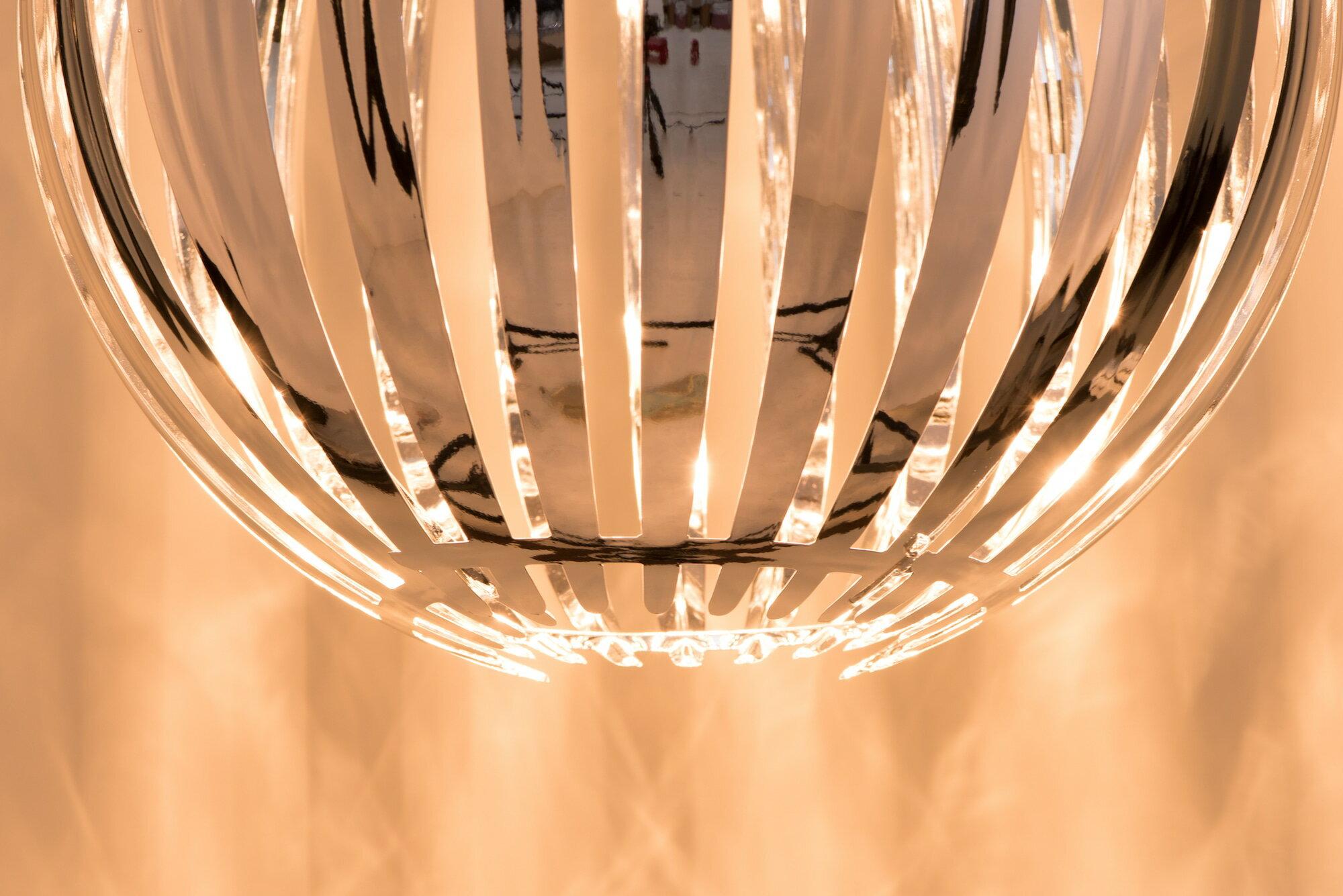 鍍鉻條圓形吊燈-BNL00054 8