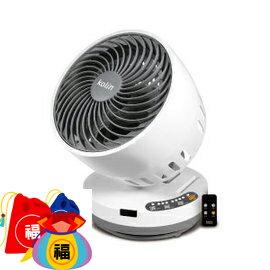 【億禮3C家電館】(福利品)Kolin歌林超靜音空氣循環扇KFC-MN907S,1-4小時定時.具搖控功能