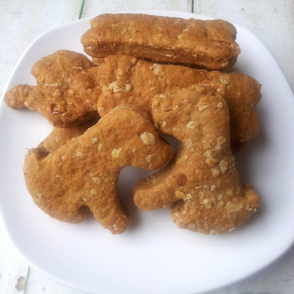 寵物手工餅乾-《燕麥羊肉餅》-60g