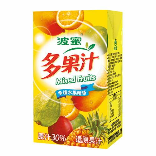 <br/><br/>  波蜜多果汁250ml*24【愛買】<br/><br/>