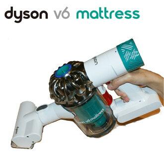 [1/31前,PG會員領券再折700] dyson V6 mattress HH08 無線除塵蹣機 吸塵器 手持 附4吸頭 白綠色 現貨 6期0% 保固一年 男生聖誕交換禮物