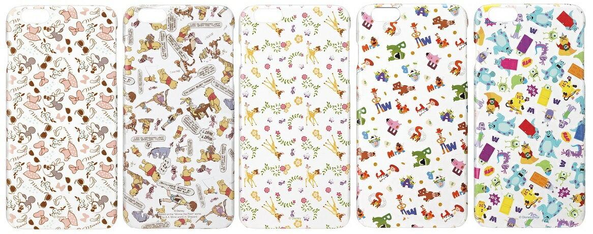 PGA 迪士尼 iPhone 6 PLUS 5.5吋 透明 繽紛系列 保護殼 米妮 維尼