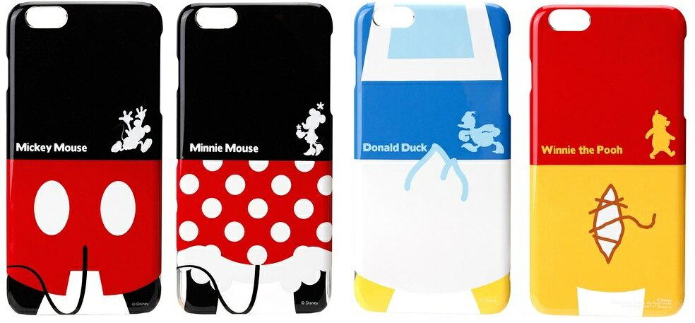 PGA 日本迪士尼授權 iPhone 6 PLUS 5.5吋 可愛小屁屁系列 保護殼 米奇 米妮 唐老鴨 維尼