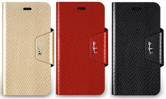 navjack APLLE iPhone 6 4.7吋 The Python Series 蛇皮 壓紋側掀 站立式保護套