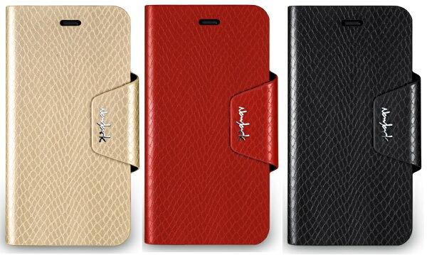 navjackAPLLEiPhone64.7吋ThePythonSeries蛇皮壓紋側掀站立式保護套