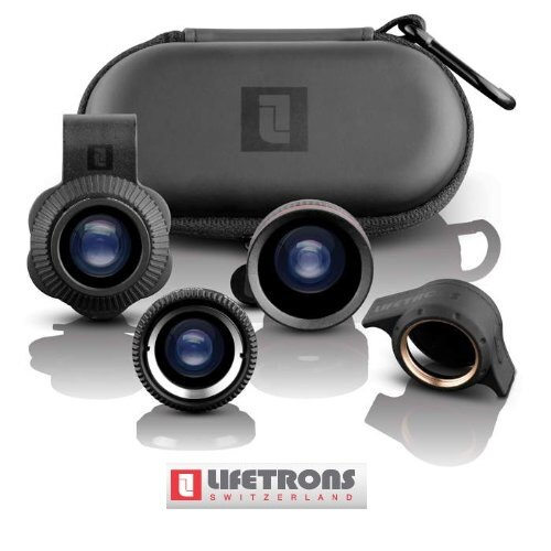 【聖誕節交換禮物】LIFETRONS 多功能 手機 鏡頭 魚眼 廣角 微距