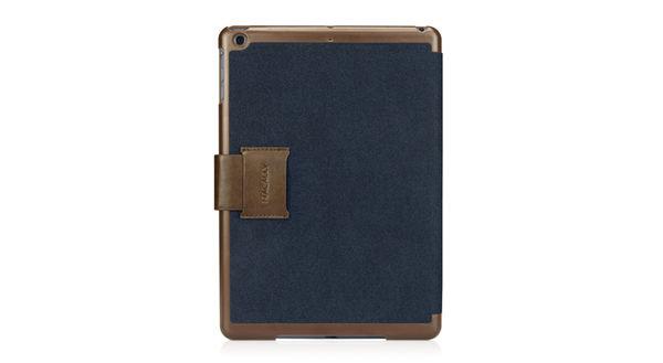 MACALLY iPad Air 扣帶式 書本式 保護套 雙色