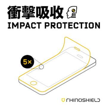 RHINO SHIELD 犀牛盾 iPhone 5/5C/5S 抗衝擊吸收螢幕正面保護貼