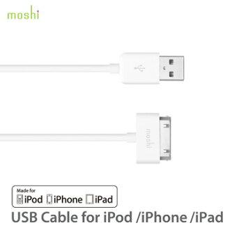 Moshi USB cable 傳輸線 30pin iPod/iPhone/iPad 通用款
